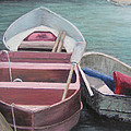 Boats Of The Lighthouse by Patty Weeks