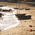 Boats On Beach 02 by Pixel  Chimp