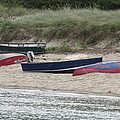 Boats On The Beach by Marci Spotts