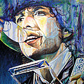 Bob Dylan Tangled Up In Blue by Joshua Morton