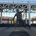 Bob Feller Bronze Statue by R A W M