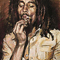 Bob Marley by Viola El