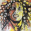 Bob Marley 02 by Chrisann Ellis