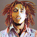 Bob Marley Earth Tones by Joshua Morton
