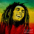 Bob Marley by Lin Petershagen