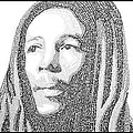 Bob Marley Painting by Keith Jensen