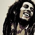 Bob Marley Poster Art by Florian Rodarte