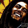 Bob Marley Rastafarian by Cory Still