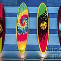 Bob Marley Surfing Display by Gary Keesler