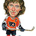 Bobby Clarke by Art