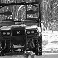 Bobcat Atv In Winter by Dan Sproul