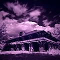 Boblo Roller Rink - Infrared by Cale Best
