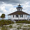 Boca Grande Lighthouse II by Carol  Bradley