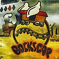 Bockscar Nose Art Abstract by Floyd Snyder