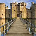 Bodiam Castle by Derek Croucher
