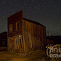 Bodie Building And Wagon Cart by Crystal Nederman