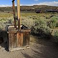 Bodie Ghost Town At The Well by Mo Barton