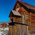 Bodie Ghost Town Church by Barbara Snyder