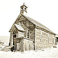 Bodie Ghost Town Church by Steve McKinzie