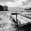Bodie Ghost Town In Black And White by Jerome Obille