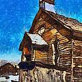 Bodie Ghost Town Methodist Church by Barbara Snyder