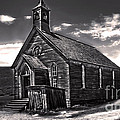 Bodie Ghost Town - Spooky Church by Gregory Dyer