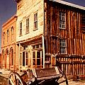 Bodie Ghost Town Wagon by Dick Rowan