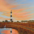 Bodie Island Lighthouse by Fran Brooks