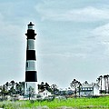 Bodie Island Lighthouse - Outer Banks North Carolina by Kim Bemis