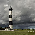 Bodie Island Lighthouse Stands Tall by Terry Rowe