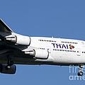 Boeing 747-400 Of Thai International by Luca Nicolotti