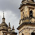 Bogota Cathedral Towers by Jannis Werner