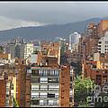 Bogota City View by Julian Medina Ronga