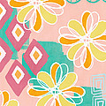 Boho Floral Garden by Linda Woods
