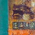 Book Cover Encaustic by Bellesouth Studio