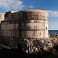 Bokar Fortress In Dubrovnik Croatia by Weston Westmoreland