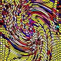 Bold And Colorful Phone Case Artwork Designs By Carole Spandau Cbs Art The Golden Dragon 114  by Carole Spandau