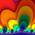 Bold Colors Fractal by Gabiw Art