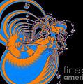 Bold Energy Abstract Digital Art Prints by Valerie Garner