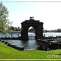 Boldt Castle Entry Arch by Rose Santuci-Sofranko