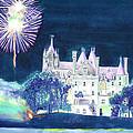 Boldt Castle Fireworks by Robert P Hedden