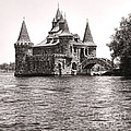 Boldt Castle Power House by Olivier Le Queinec