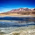 Bolivia Desert Lake Framed by For Ninety One Days