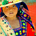 Bolivian Child by Diana Angstadt