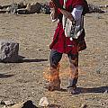 Bolivian Shaman - Isle Del Sol Peru by Craig Lovell
