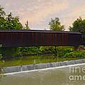 Bollinger Cover Bridge by Peggy Franz