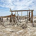 Bombay Beach Ruins by Keith Ducker