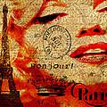 Bonjour Marilyn by Greg Sharpe