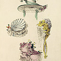 Bonnets For An Occasion, Fashion Plate by English School