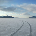 Bonneville Salt Flats, Salt Lake City by Christian Heeb